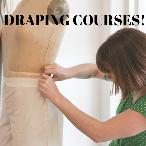 We now offer DRAPING I in 4-week sessions to maximize learning!
