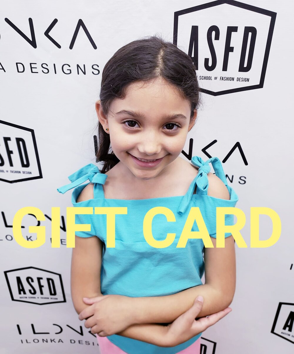 Face Masks Gift Cards Summer Classes Asfd