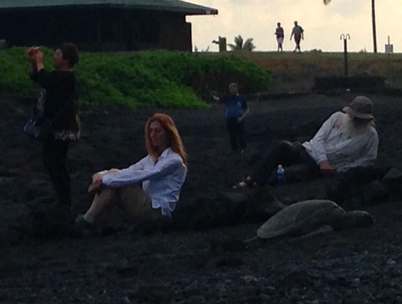 Lisa-and-Taylor-meditating-with-turtles.jpg