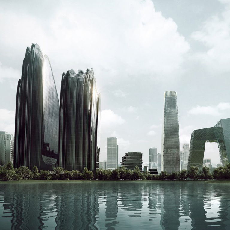 Chaoyang Park Towers  MAD Architects