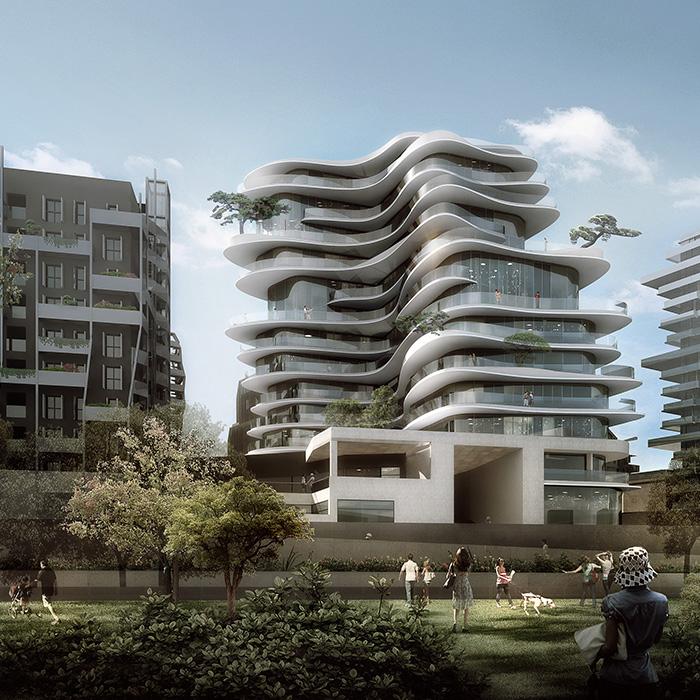 Unic emerige  MAD Architects