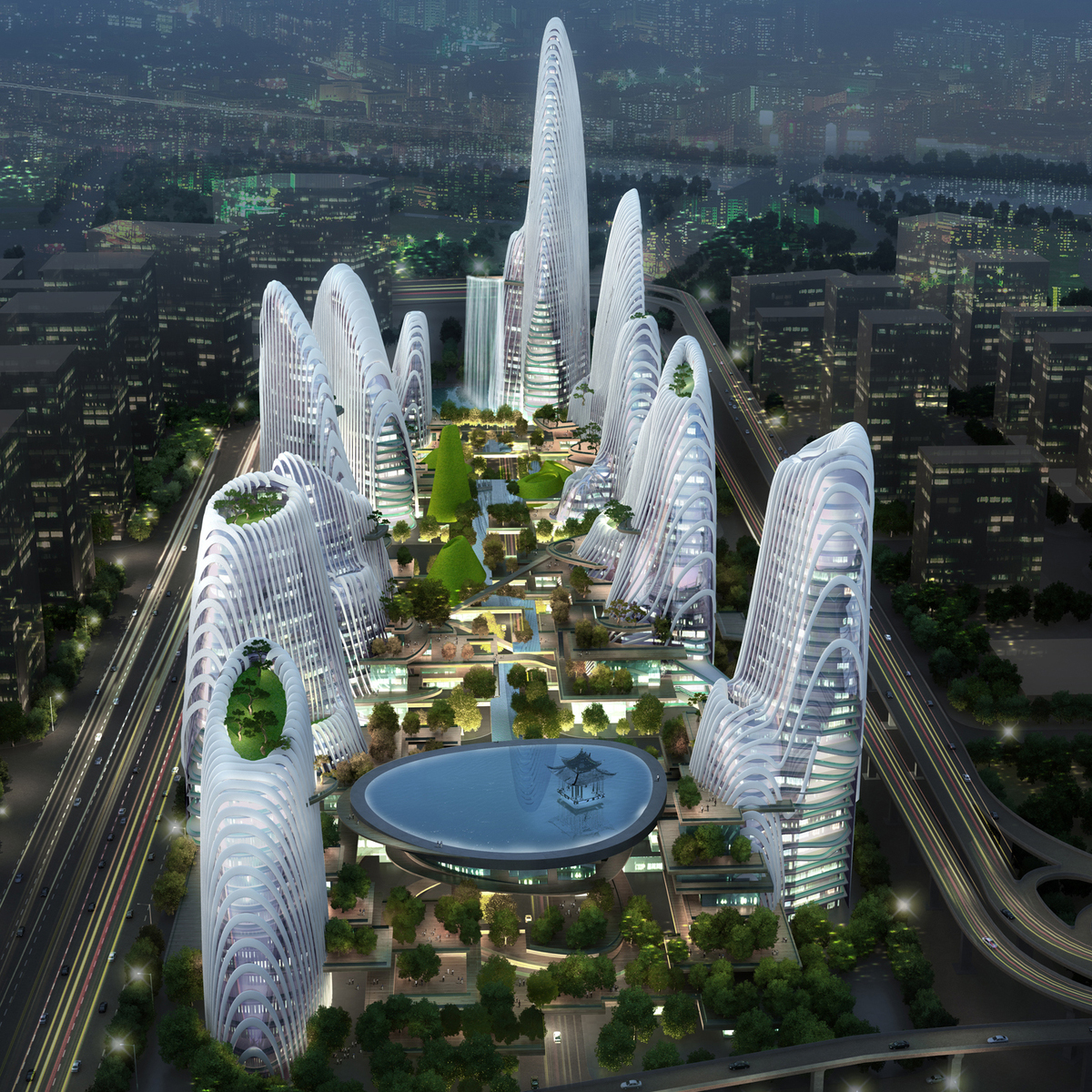 Nanjing Nanzhan  MAD Architects