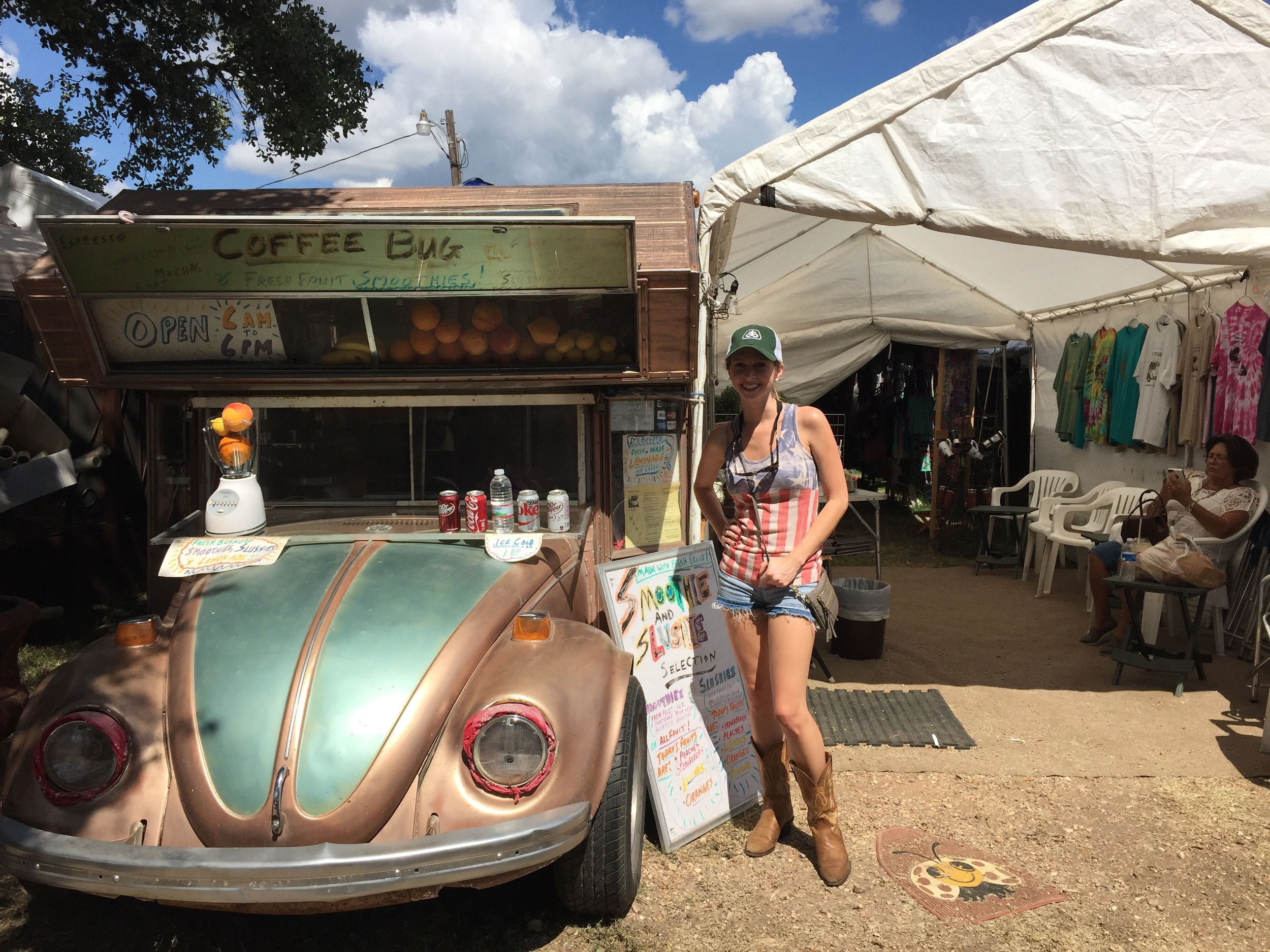 """The """"Coffee Bug"""" is a local hot spot for grabbing a morning beverage, but I came prepared with my own juice! I was on a 3 day mission, and I didn't have time to kill."""