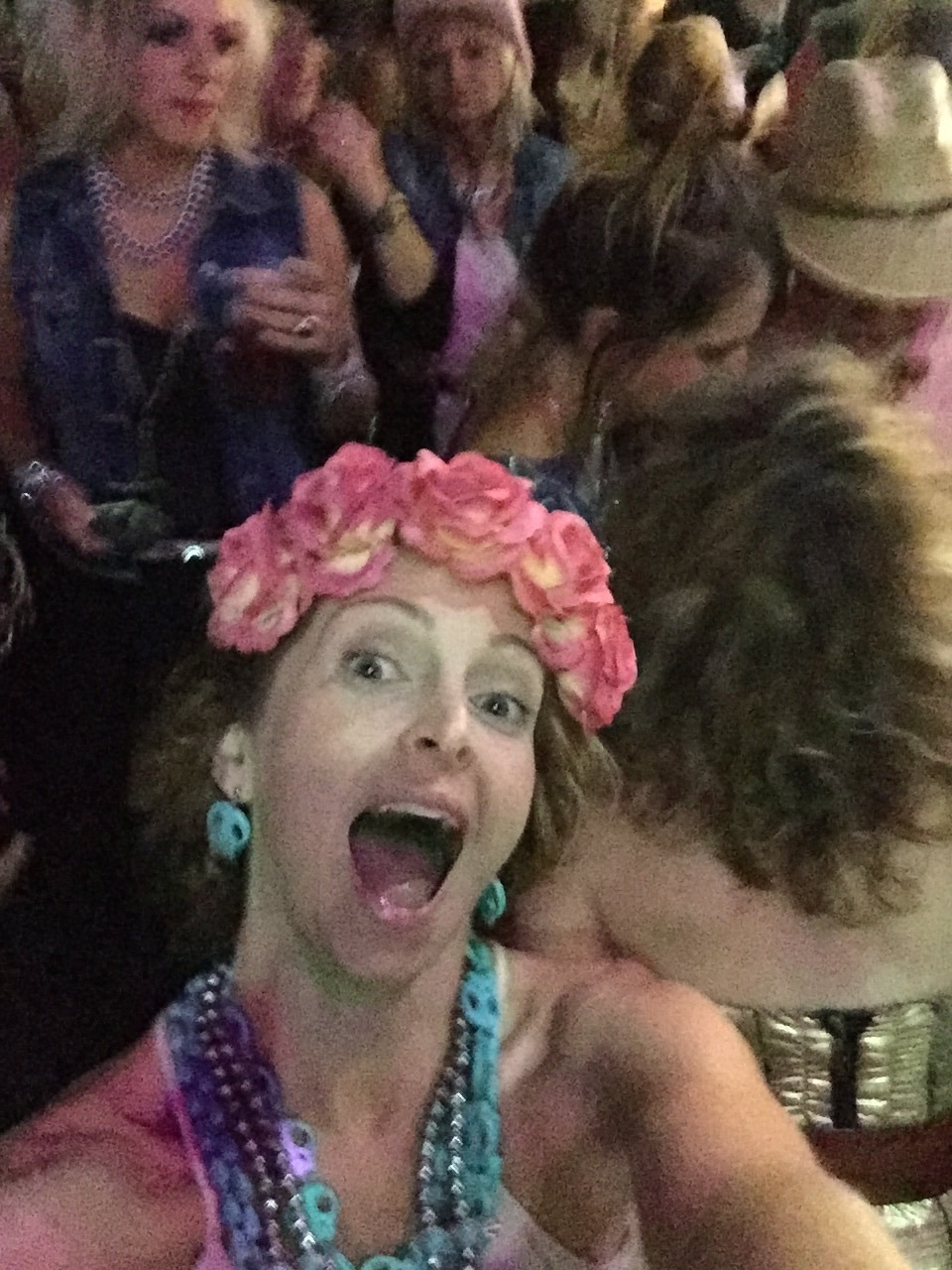 """When you take a crazy selfie, and later realize the """"Gypsies"""" were in the back ground!"""
