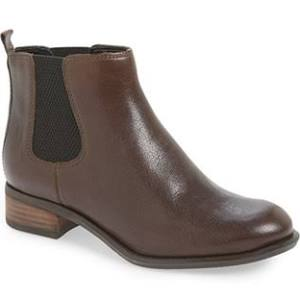 Ladies Leather Chelsea Boot from Nine West $69.90