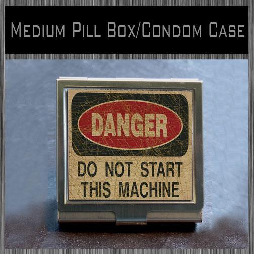 Medium PIllbox-Condom Case