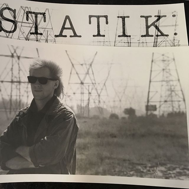 Statik promo shot, 1987, by Heidi Bauer #throwbackthursday
