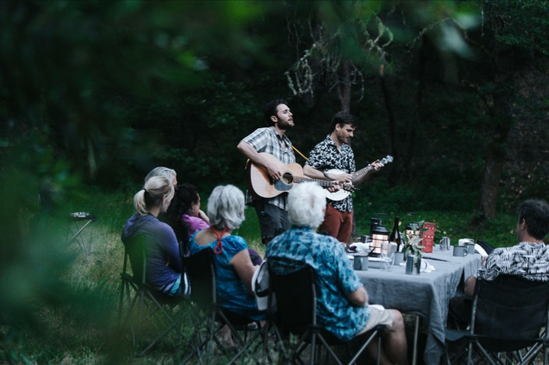 The  Serenade  music and gourmet food rafting trip on the Rogue River in Oregon. Always a joy to collaborate with my future brother  Austin Quattlebaum  (banjo & songs), and my sister.  Check out Serenade's upcoming events.