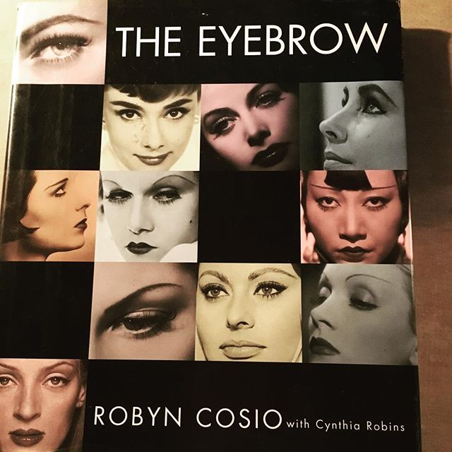 Yes... I actually bought a book on eyebrows.  The entire history and evolution of the eyebrow.  Is that weird?  Lol! 💕#eyebrows #esthetics #brow shaping