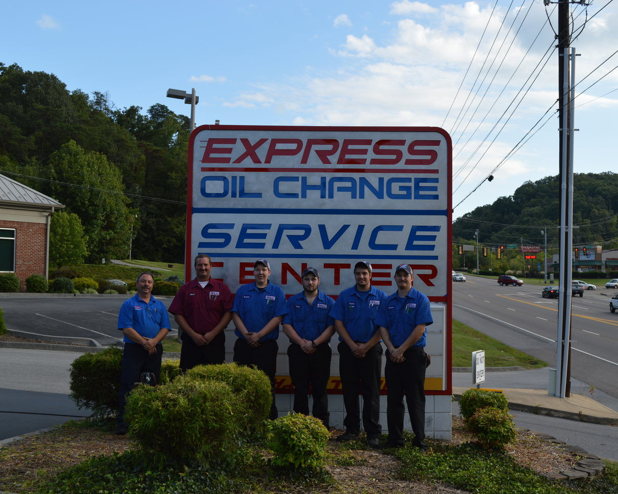 Express Oil Change & Tire Engineers ®  3855 Fort Henry Drive, Kingsport TN