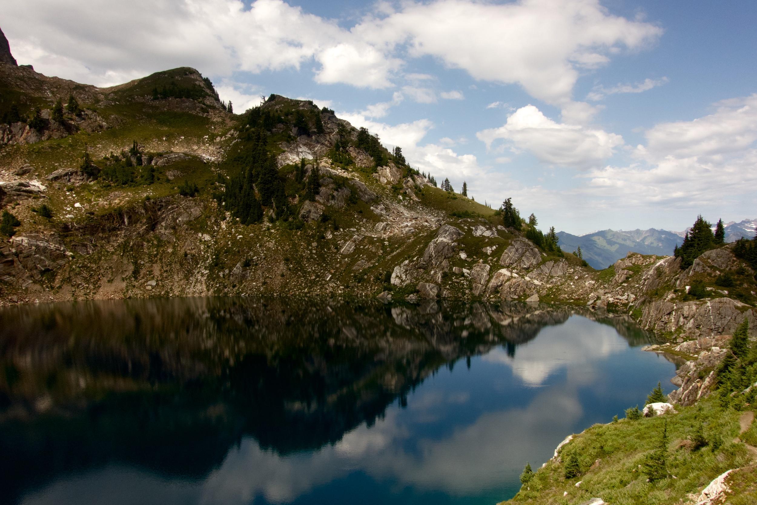 Lake Below Glacier Peak