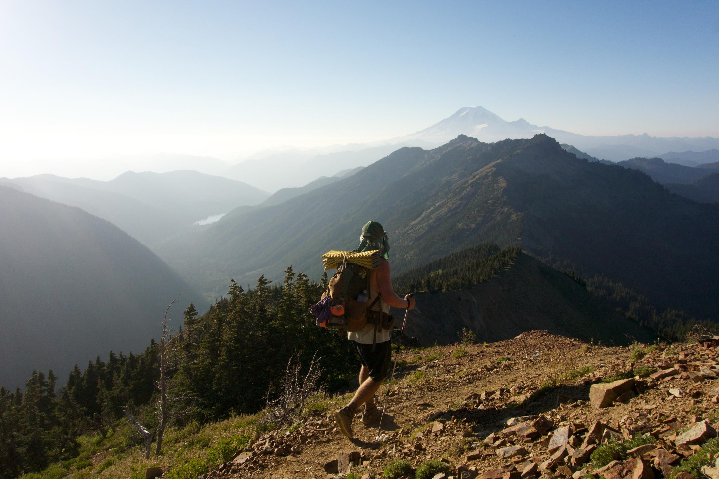 Goat Rocks and Rainier