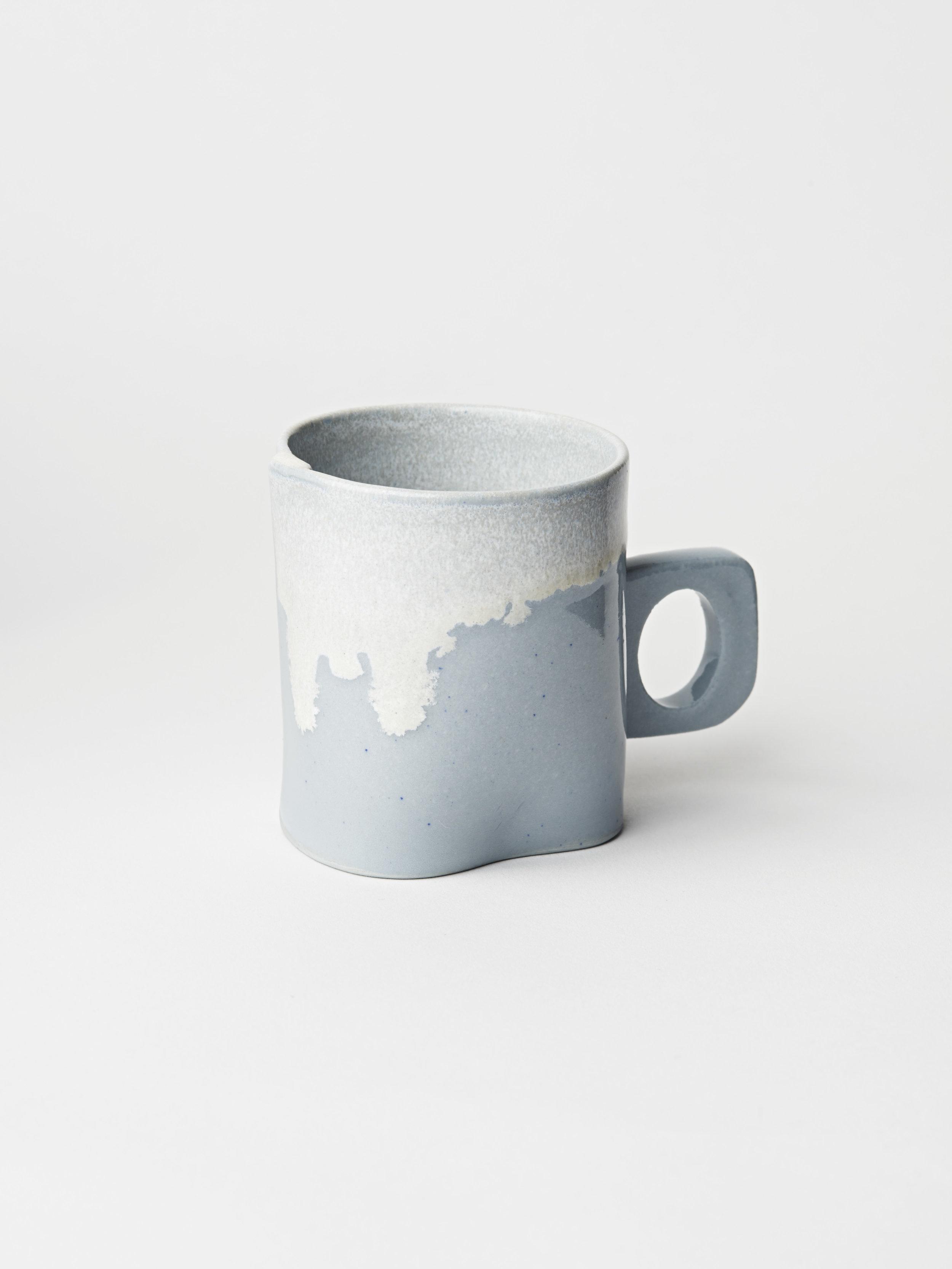 Mini Cup w/ Handle - Light Blue