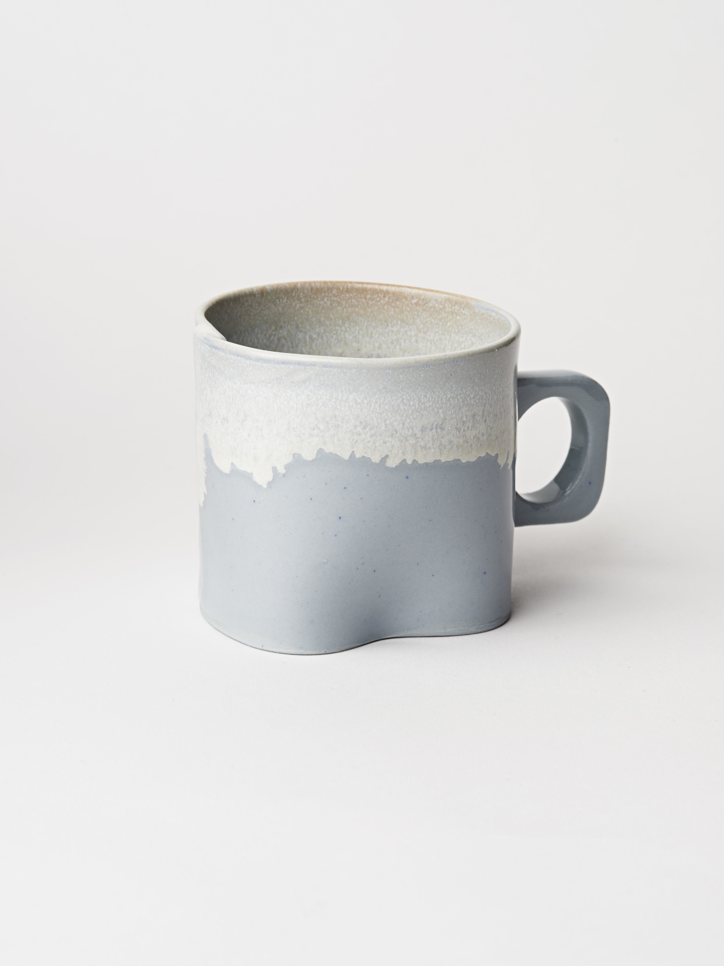 Small Cup w/ Handle - Light Blue