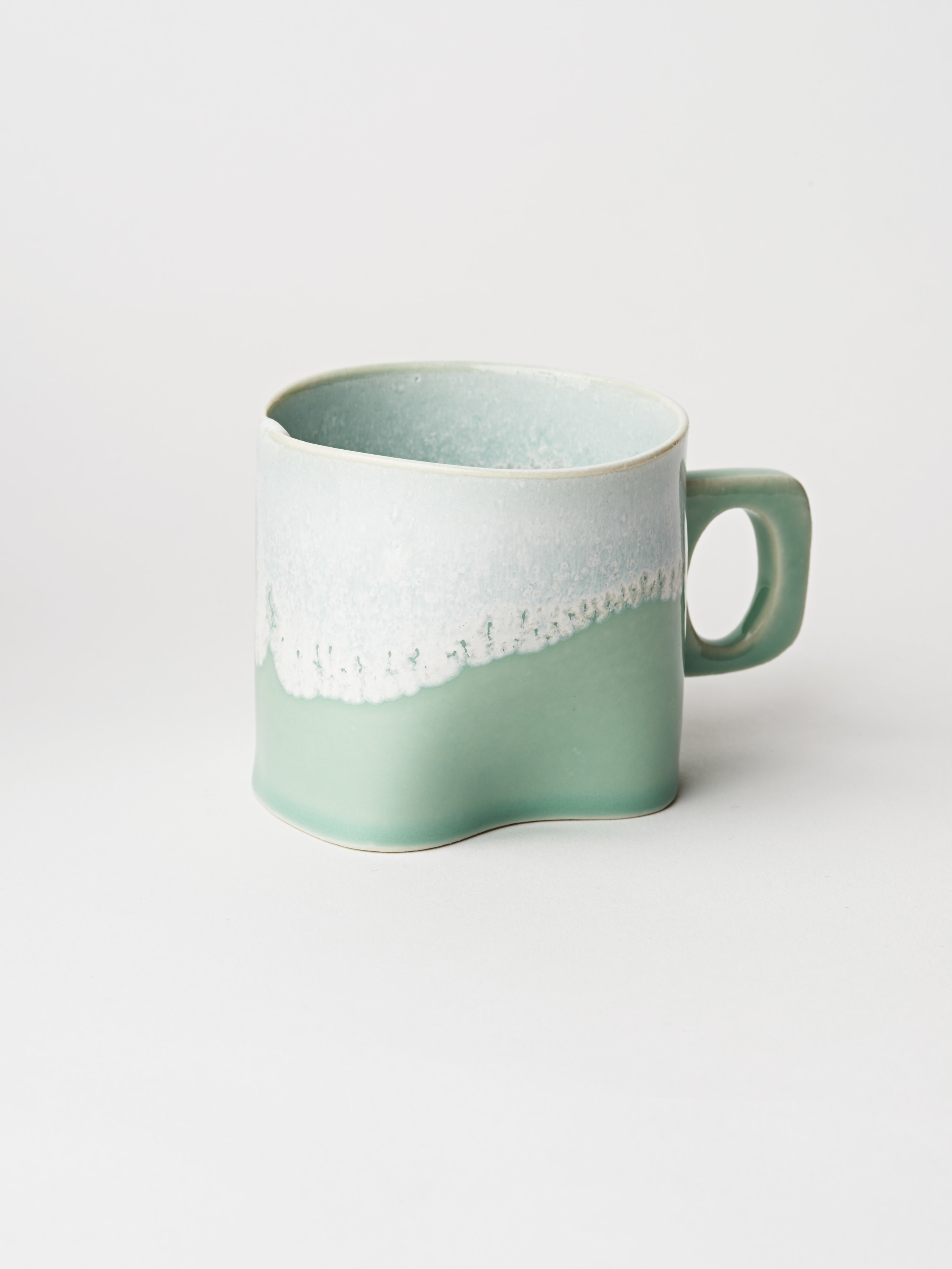Small Cup w/ Handle - Turquoise