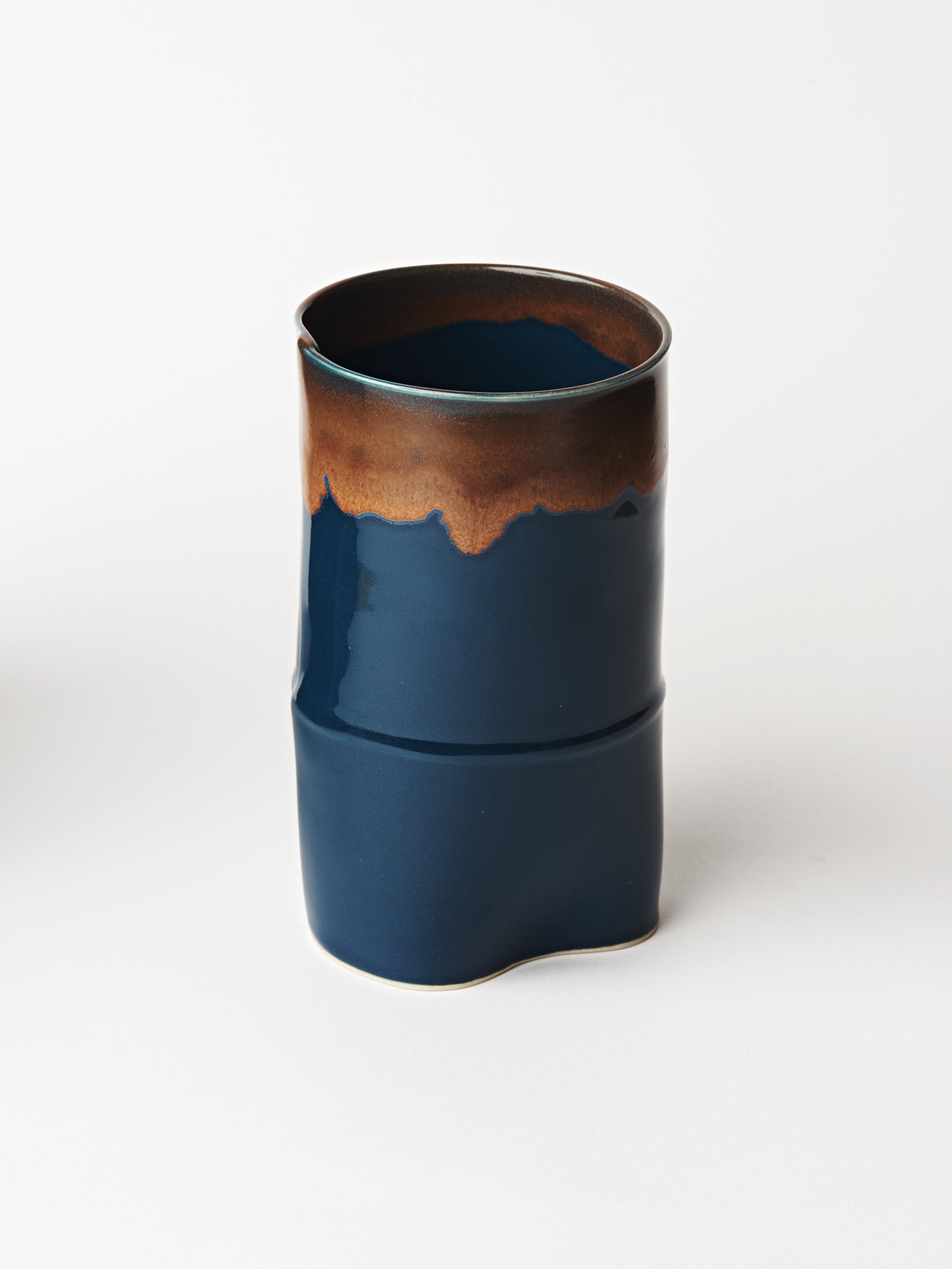 Large Vase - Teal Blue