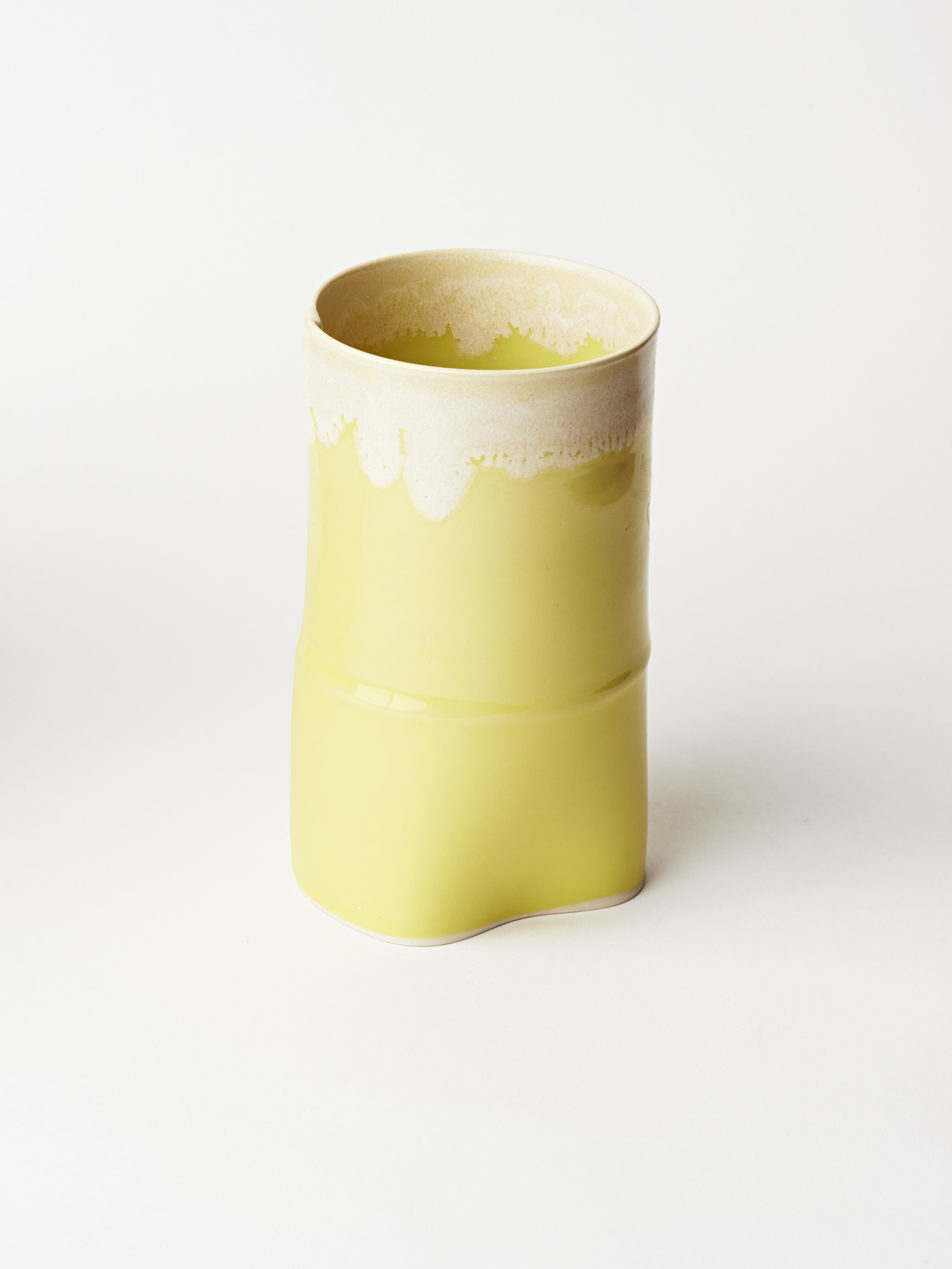 Large Vase - Yellow