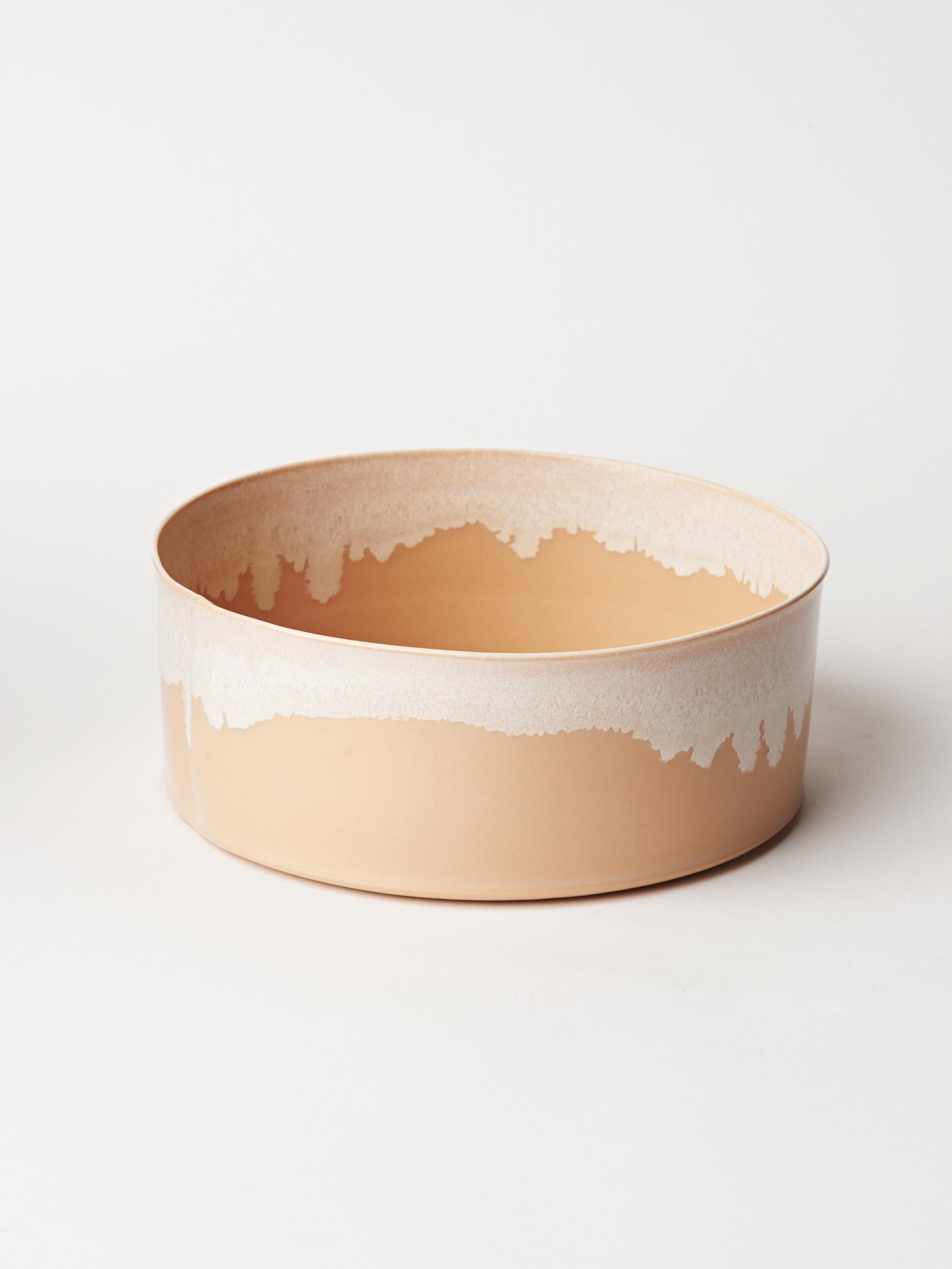 "Nesting Bowl ⌀ 8.5"" x 3.5"" - Peach"