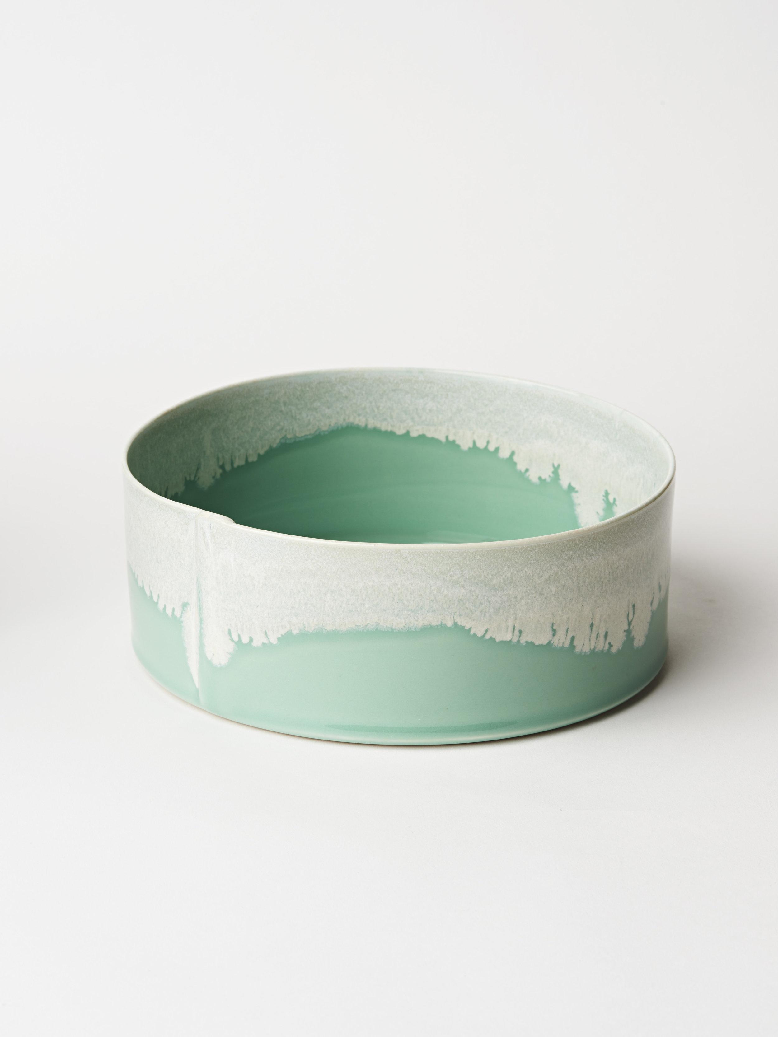 """Nesting Bowl ⌀ 8.5""""x 3.5"""" - Turquoise"""