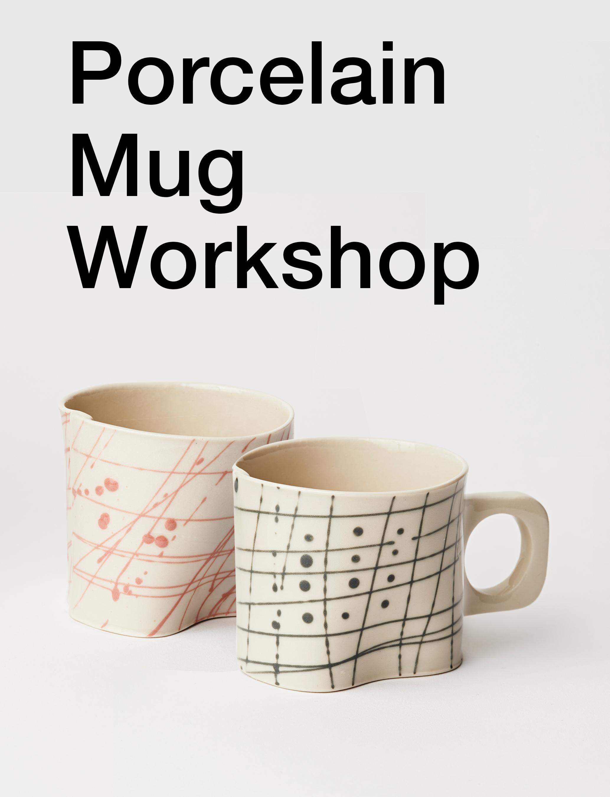 Porcelain Mug Workshop — Wilcoxson Brooklyn Ceramics