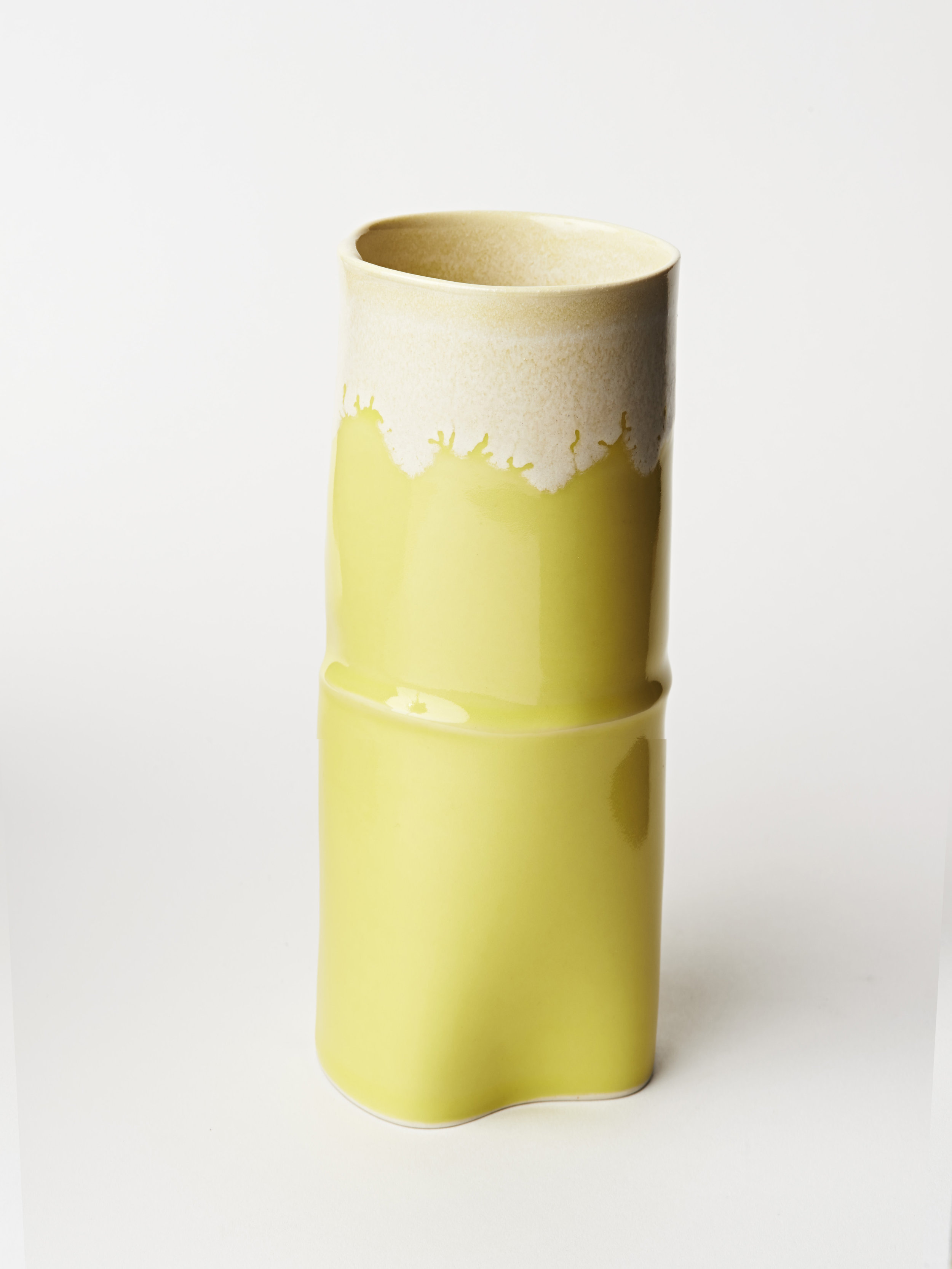 Tall Vase - Yellow