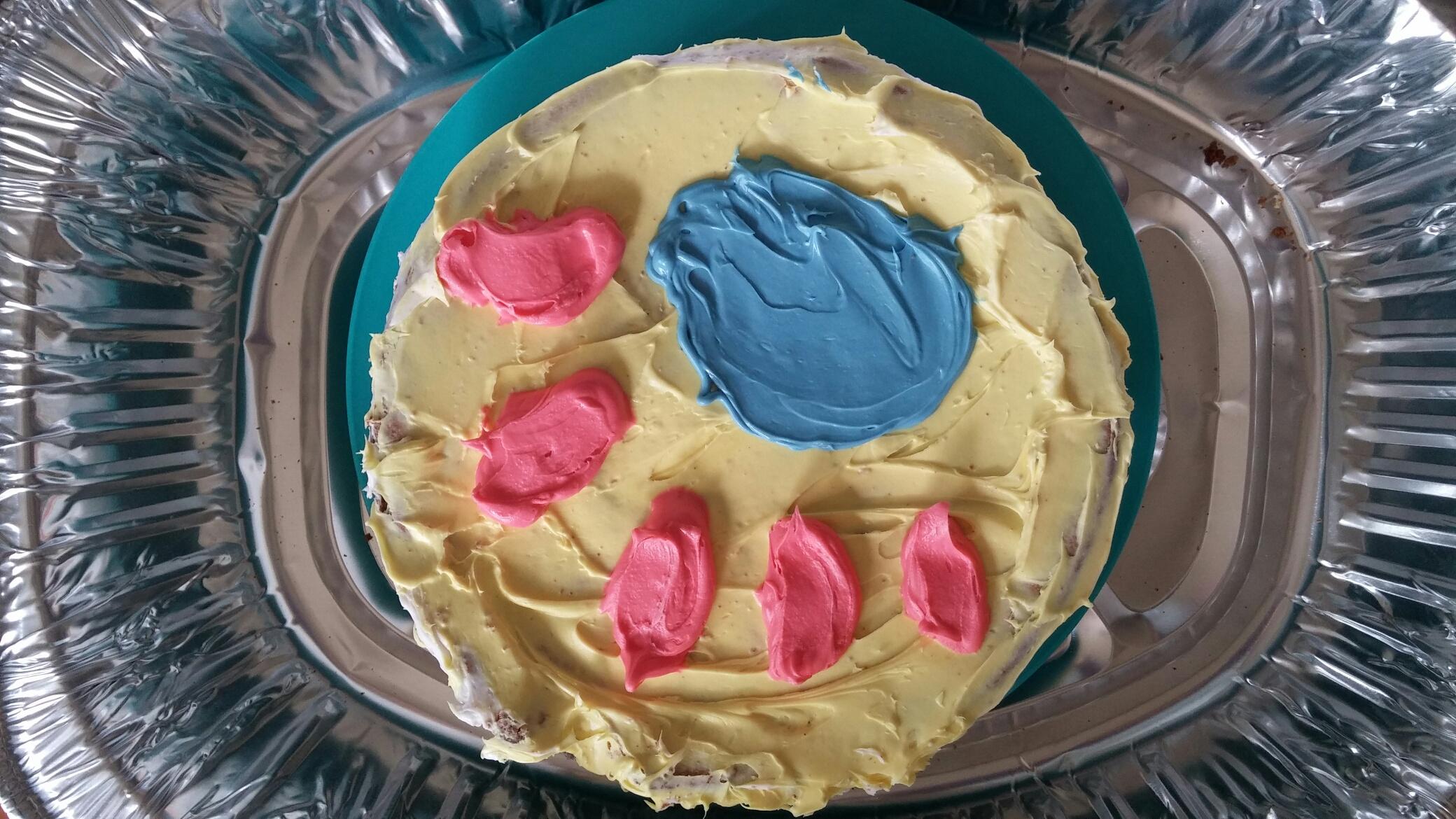 Lymph node cake