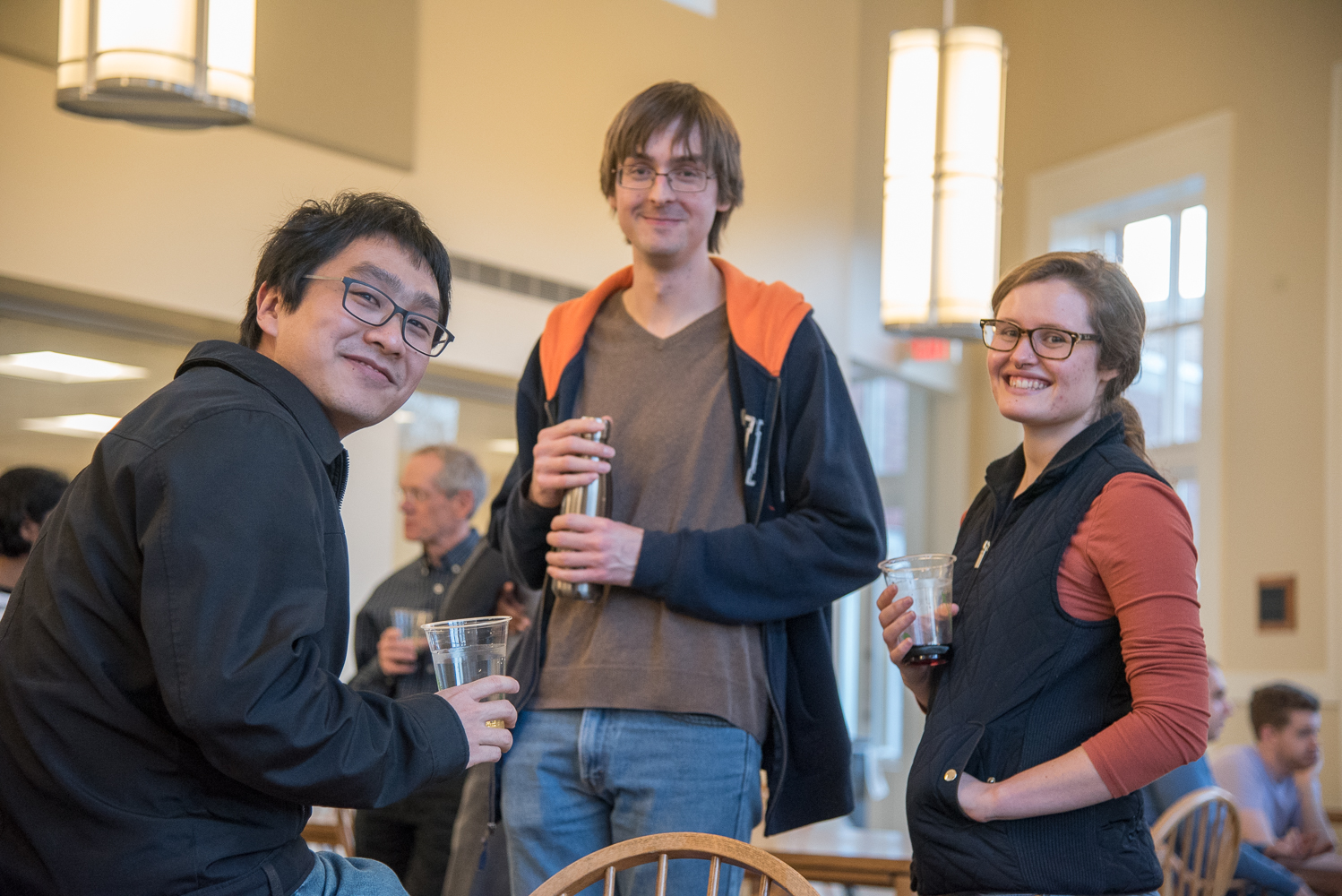 Celebration after PhD qualifying exams were over!  Photo credit: Prof. Jim Demas