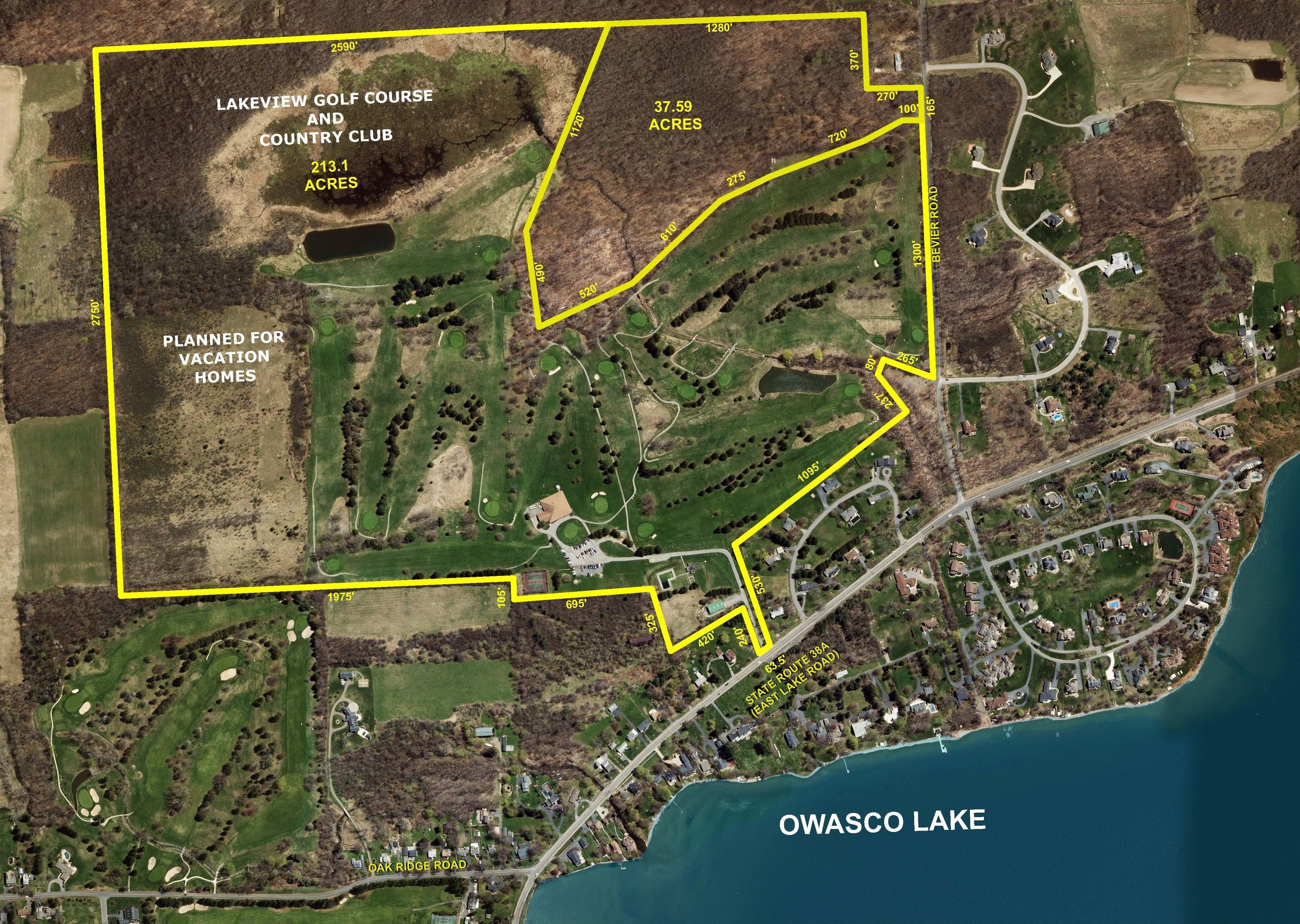 Owasco Lakeview Golf & Country Club Listed For Sale by Real Estate Broker Michael DeRosa Exchange 212-757-1550