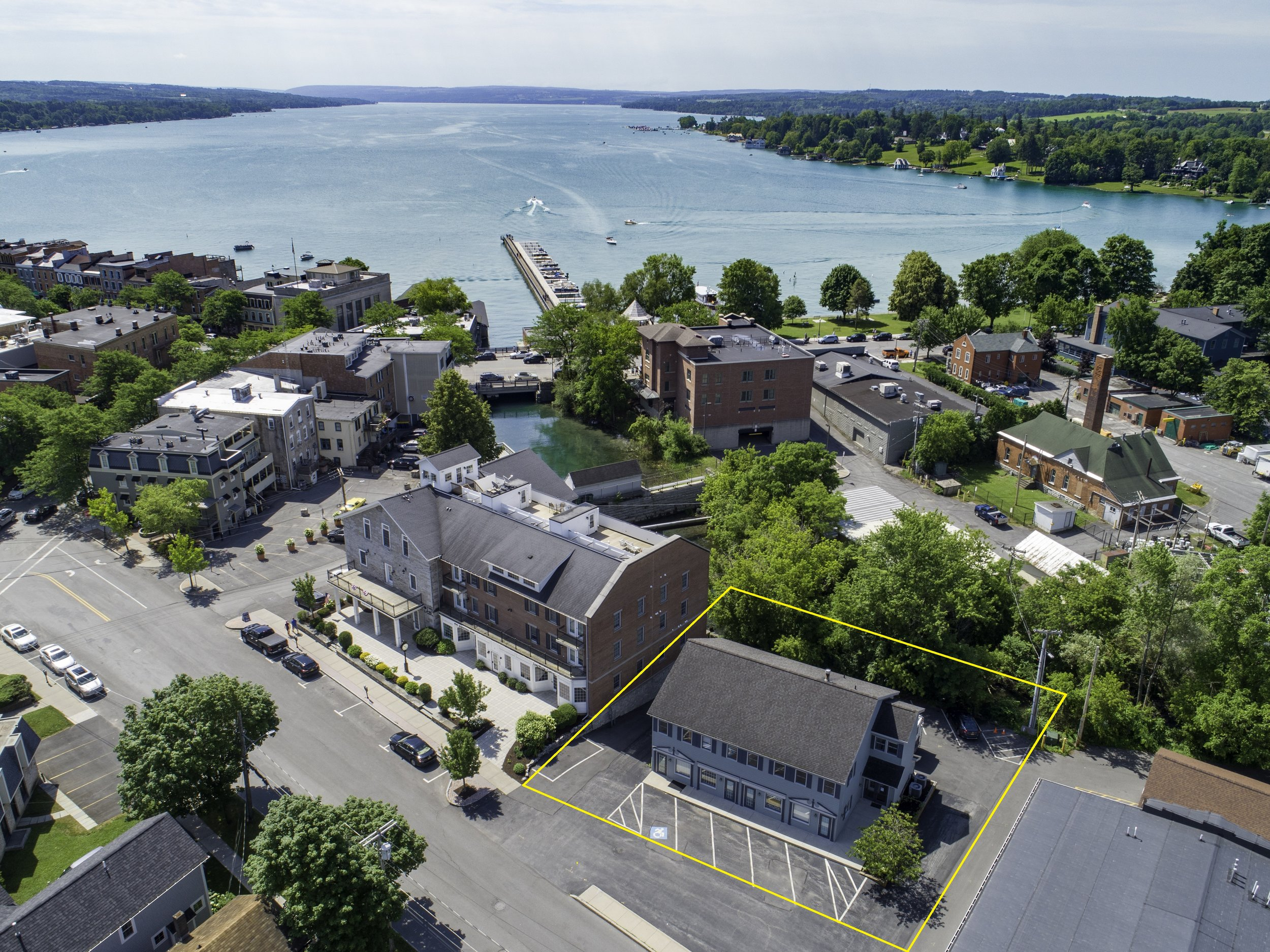 RARE OPPORTUNITY TO PURCHASE A COMMERCIAL BUILDING IN THE BEAUTIFUL AND HIGHLY DESIRED DOWNTOWN DISTRICT OF SKANEATELES. PROPERTY HAS NOT BEEN RELEASED TO THE OPEN MARKET FOR YEARS!
