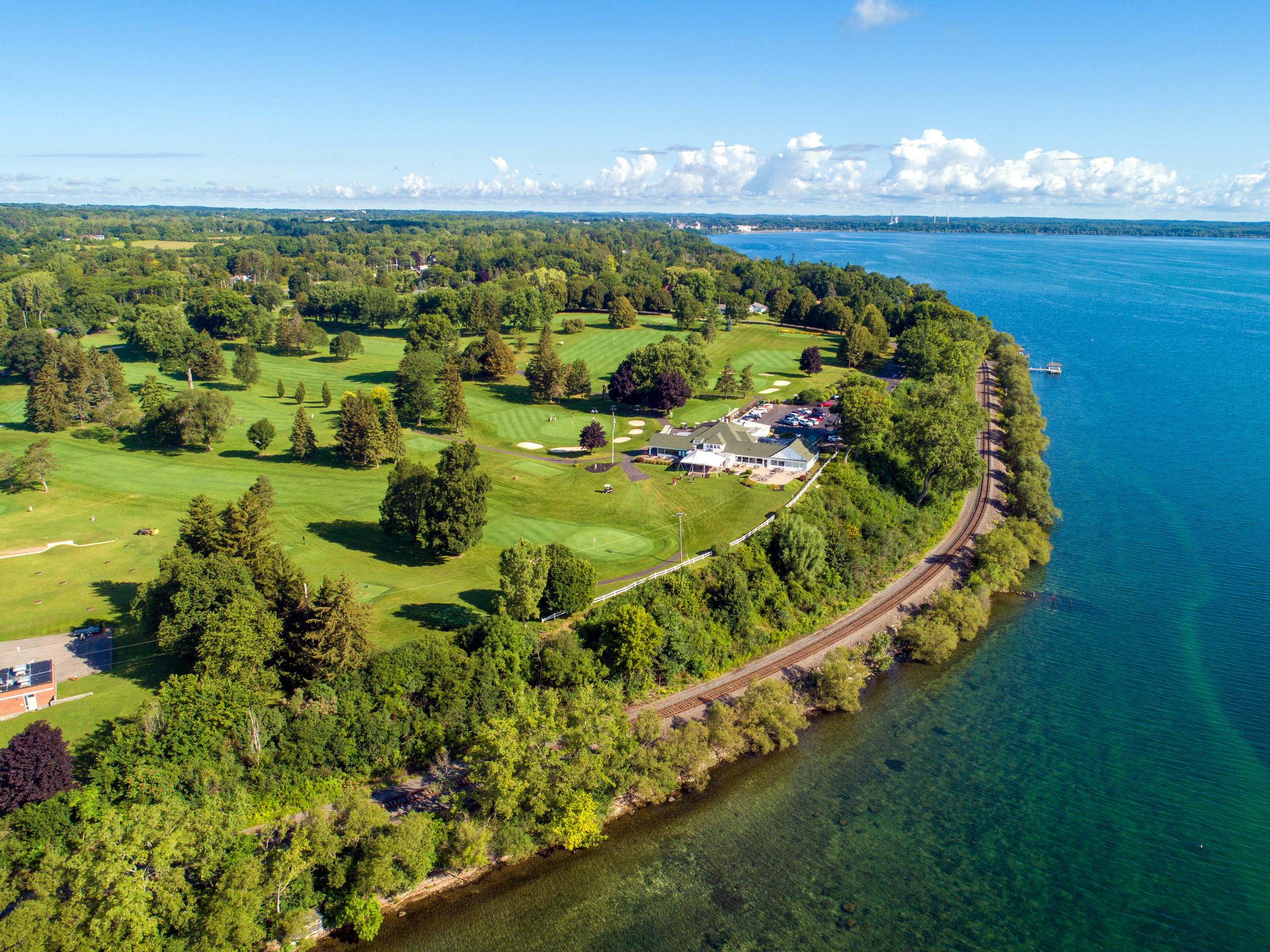 Geneva Country Club Golf Course on Seneca Lake