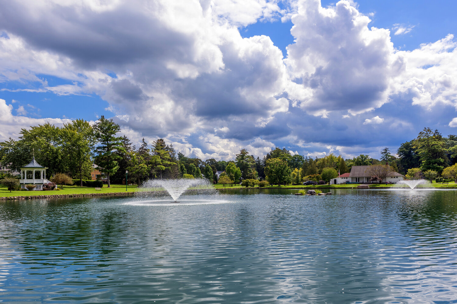 Auburn New York's Beautiful and Tranquil Hoopes Park
