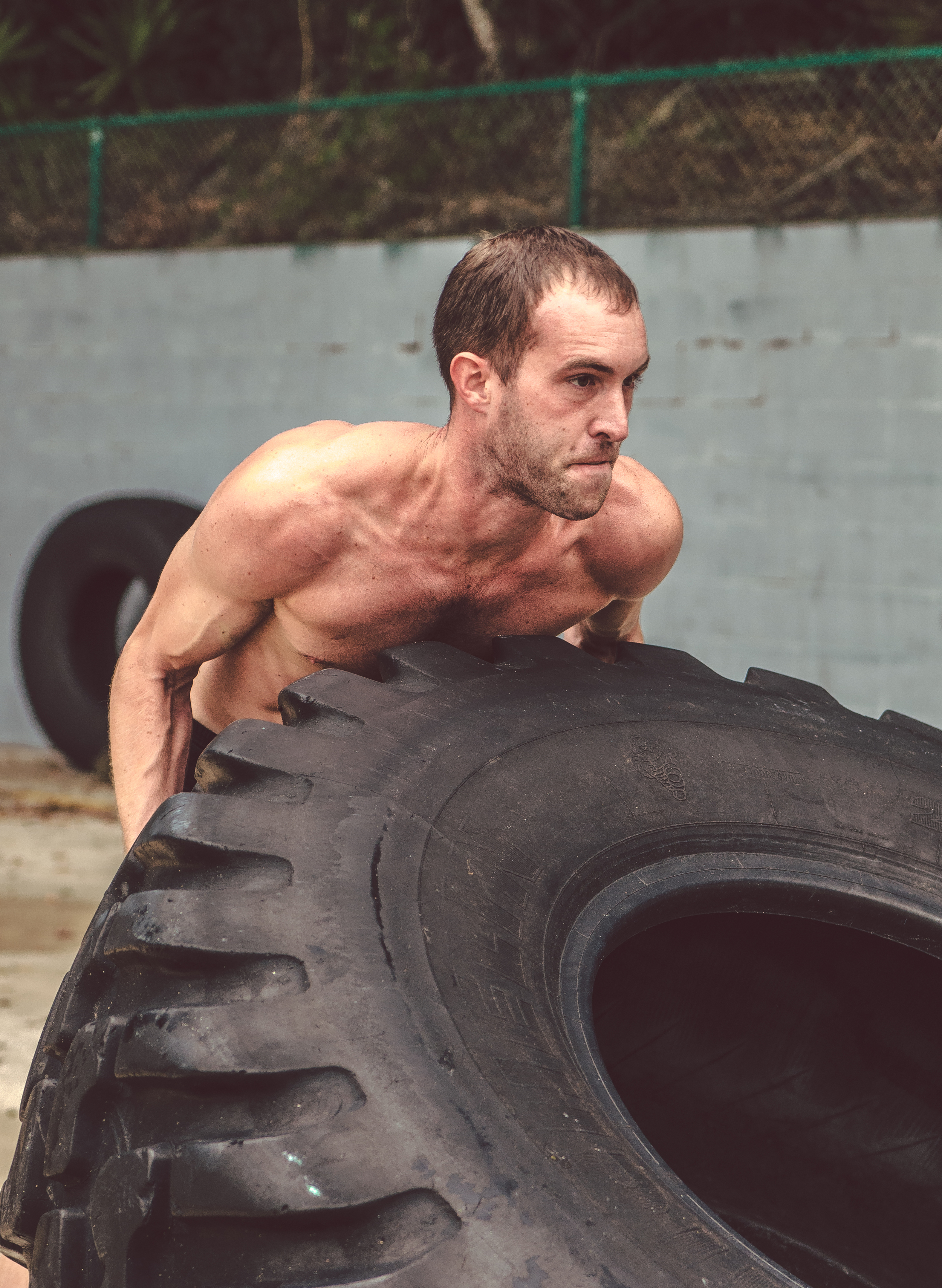 CROSS-TRAIN   Need to bust through a plateau? Set up with a trainer to switch it up: flip some tires, swing a sledgehammer and get ready for some battle-ropes. Re-invigorate your fitness routine in no time!