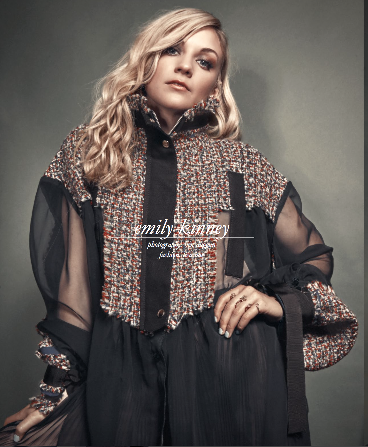 Schon Magazine featuring Emily Kinney