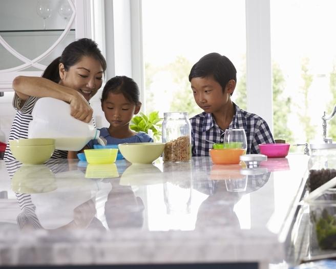 Balancing Brenda's professional and family life -