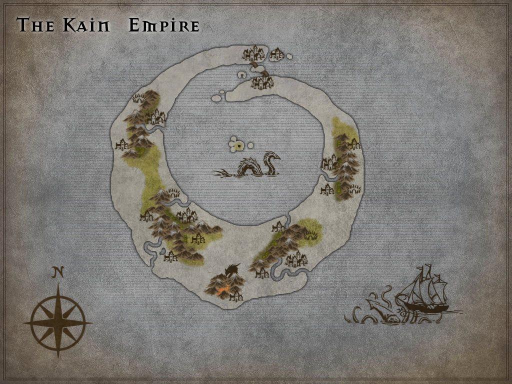 The Kain Empire by Robert Keys