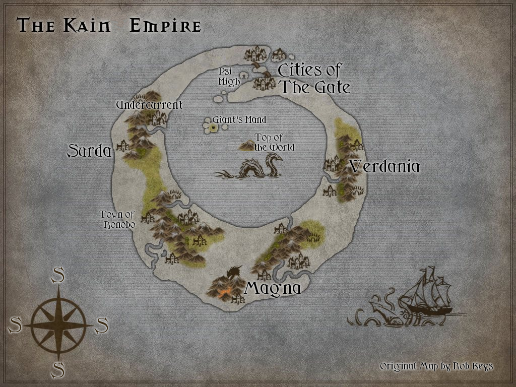 Updated Kain Map