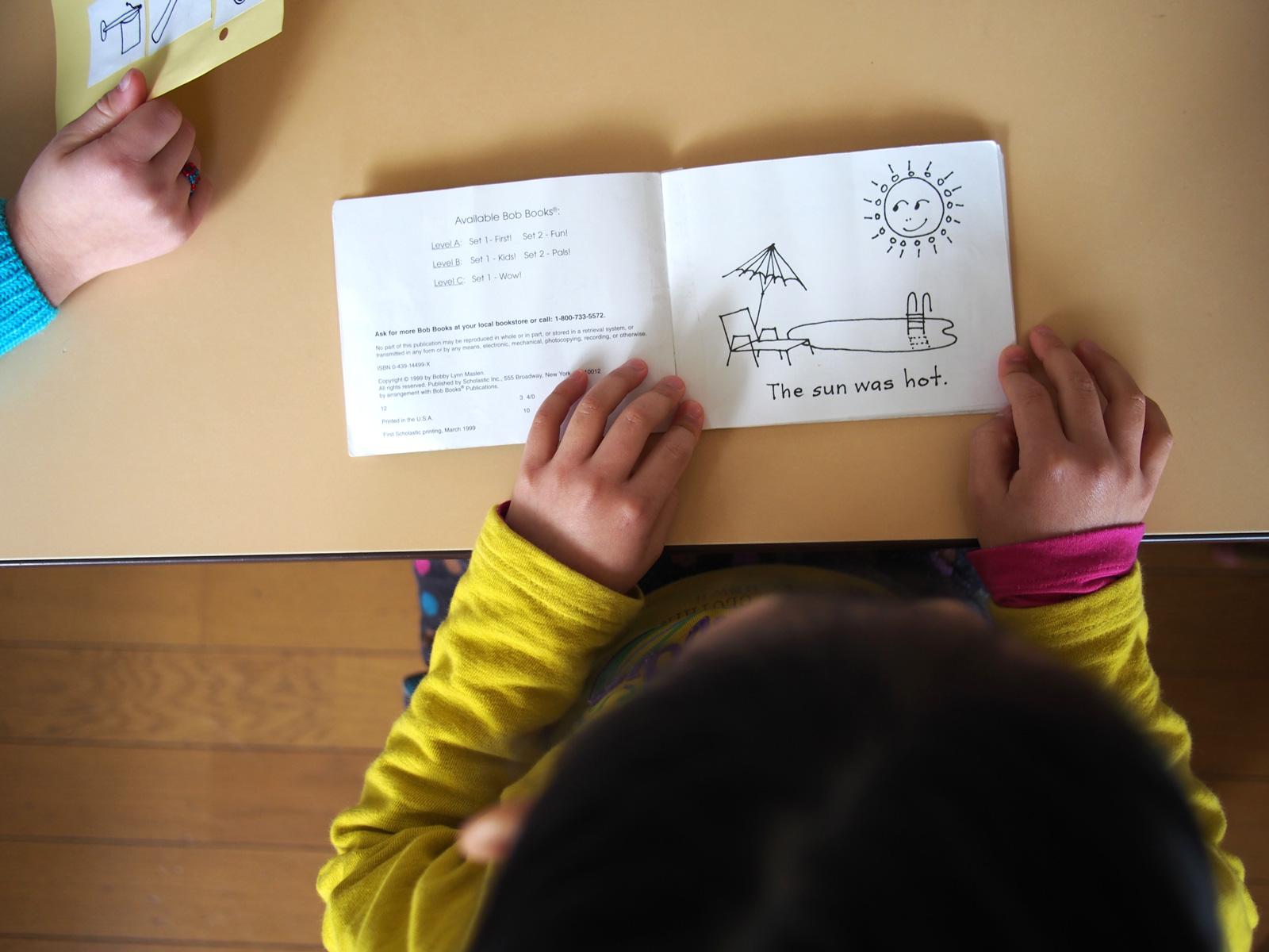 Bluebird classes prepare children for first grade.