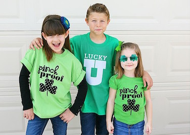 Don't forget to wear green!