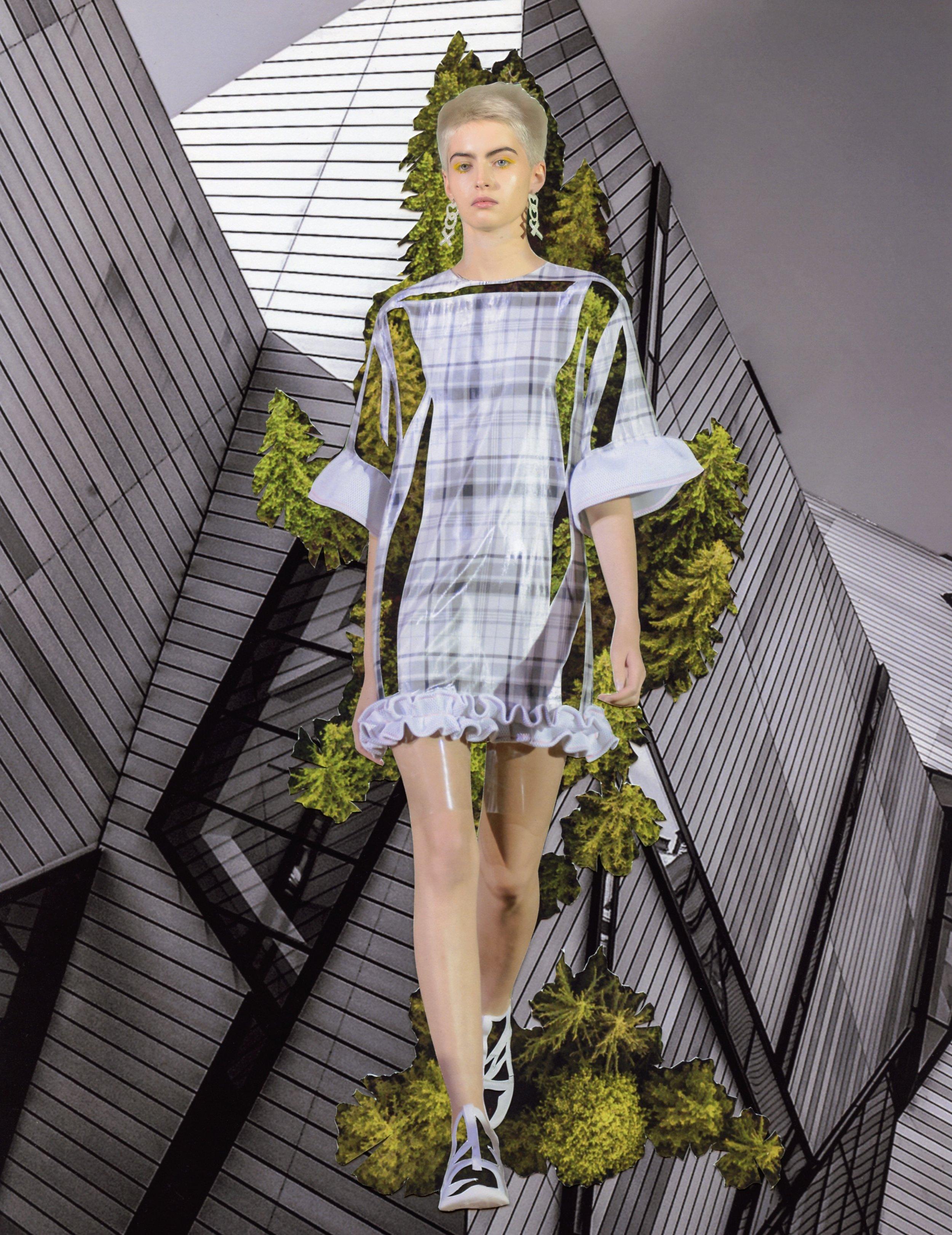 Reset Fashion:V Magazine - JIWON CHOI's SS18 collection,