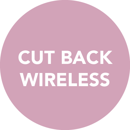 Reduce your exposure to wireless devices - the radiation messes with our genes and make us more susceptible to cell damage that in turn creates an opportunity for cancer development