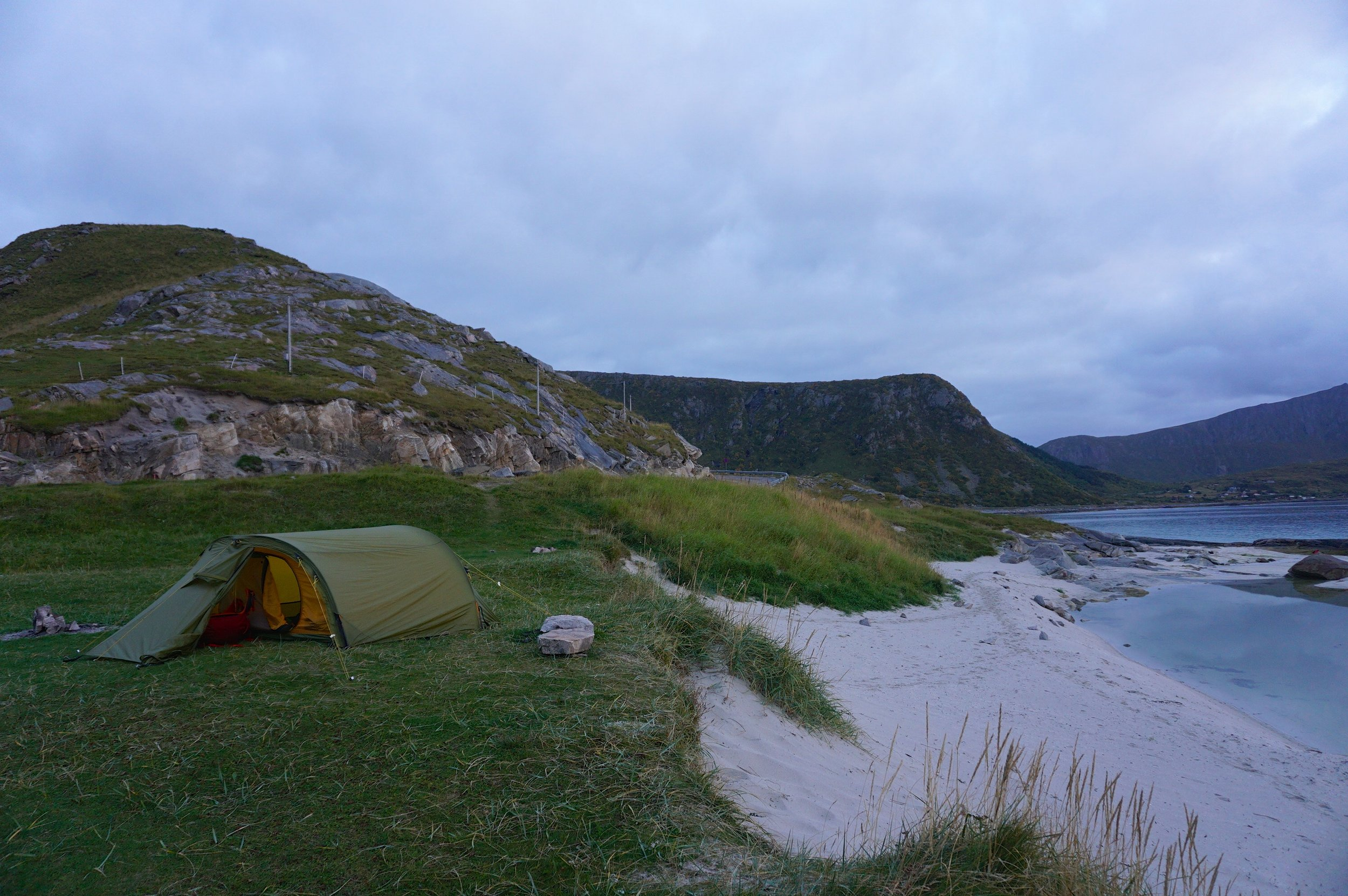 Camping spots don't get much better than this!