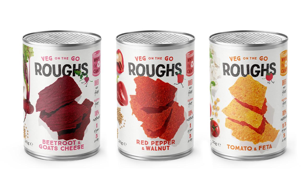 Roughs Packaging for Satisfied Snacks