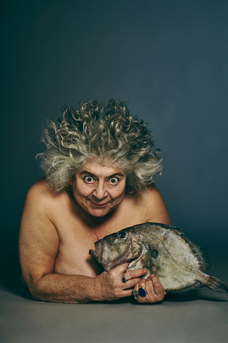 Harry Potter star Miriam Margolyes  © Jillian Edelstein for Fishlove