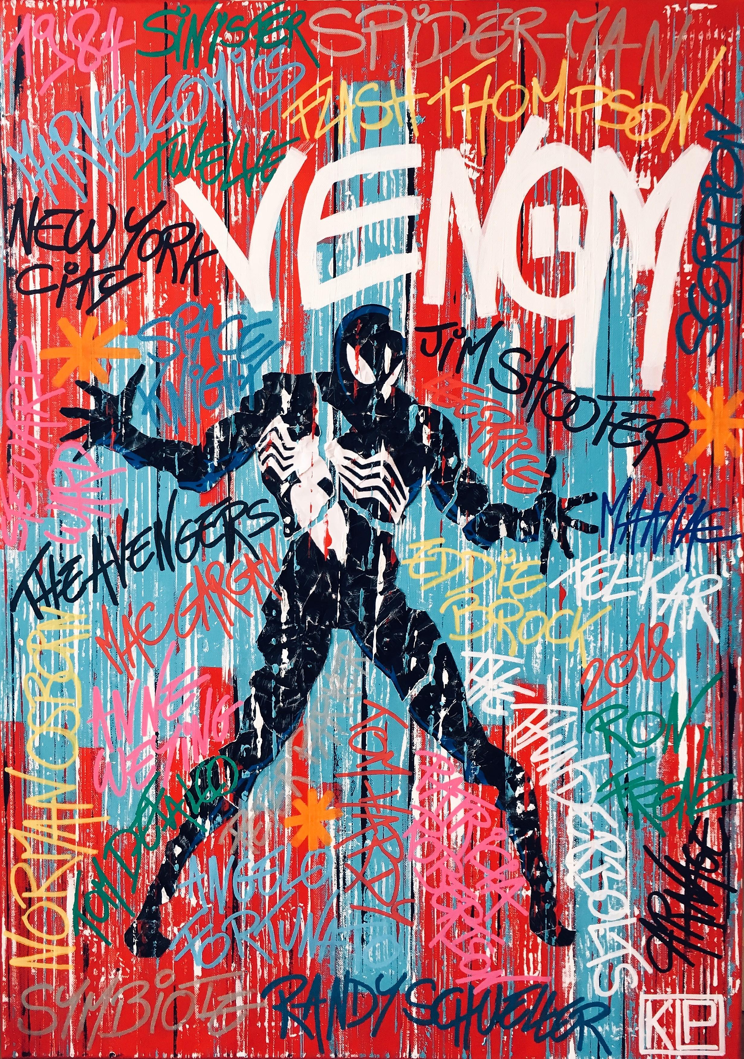 Toile 28_Superheroes #9_Venom_2018.JPG