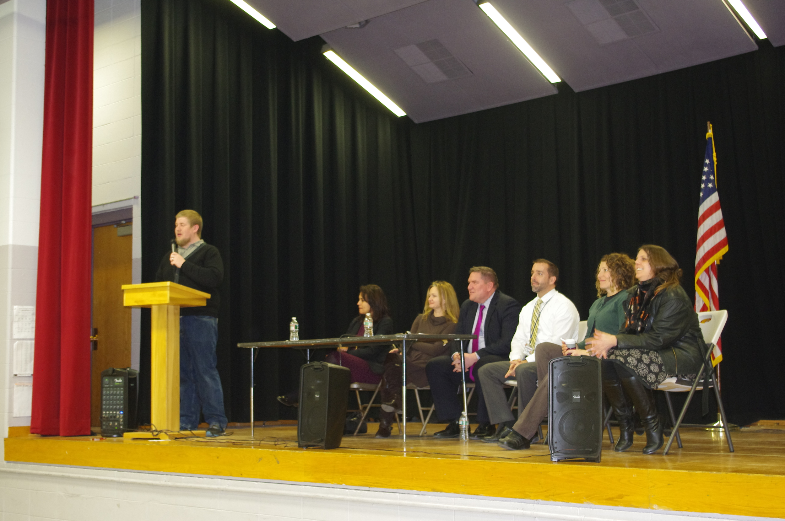 Parents of Asa Messer and Classical Students join the panel for Q&A