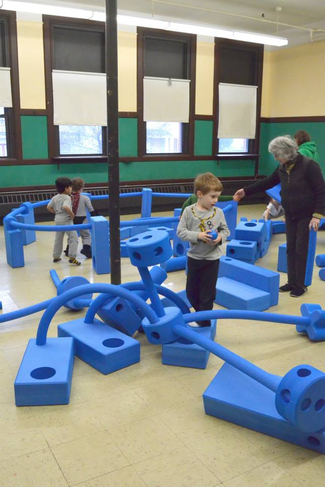 WSPS's  Imagination Playground , won as a grant in 2013 from KaBOOM!