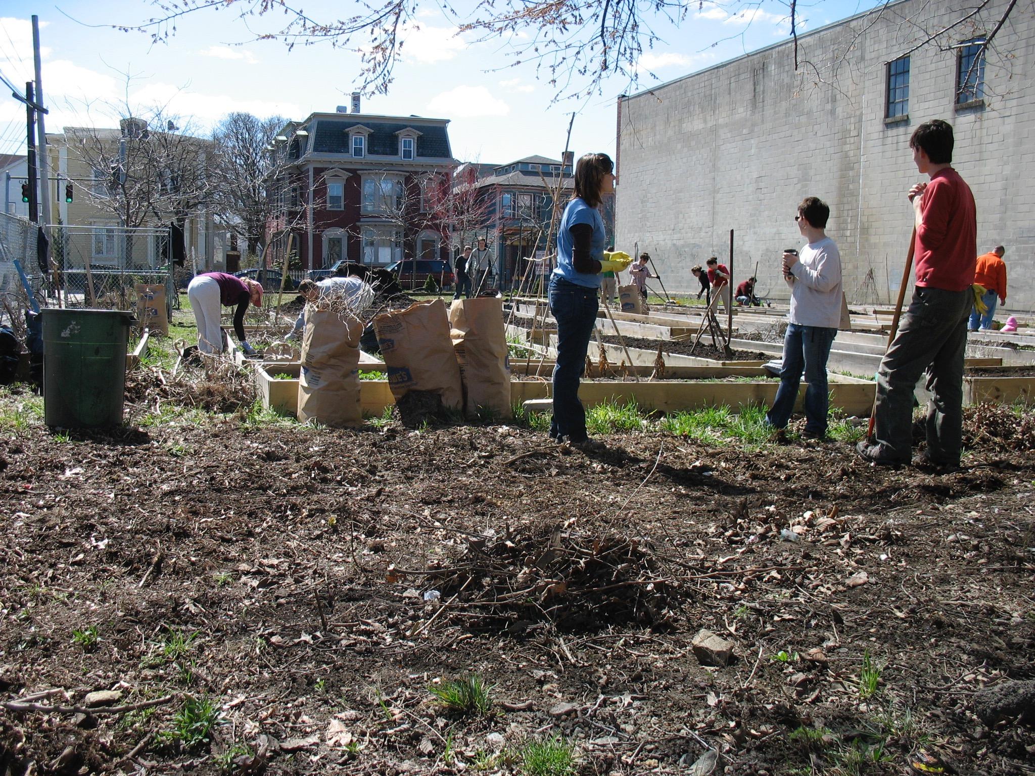 Bridgham Community Garden Clean Up Day