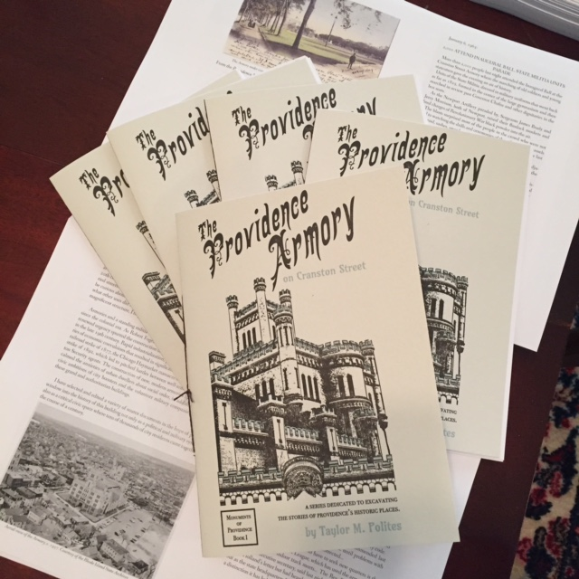 Historical booklet researched and written by neighbor-author Taylor Polites.