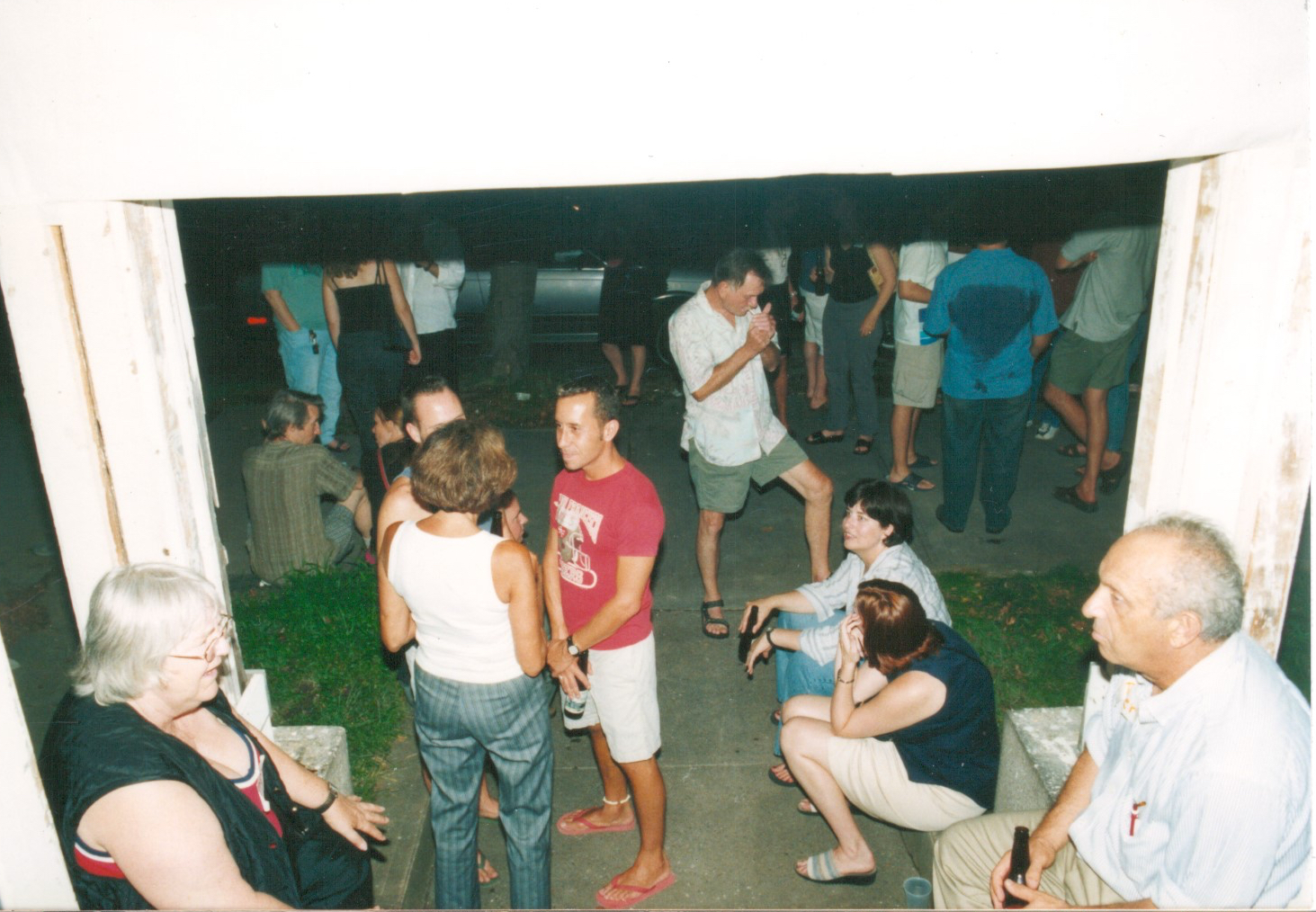 Pre-renovation party, 2002