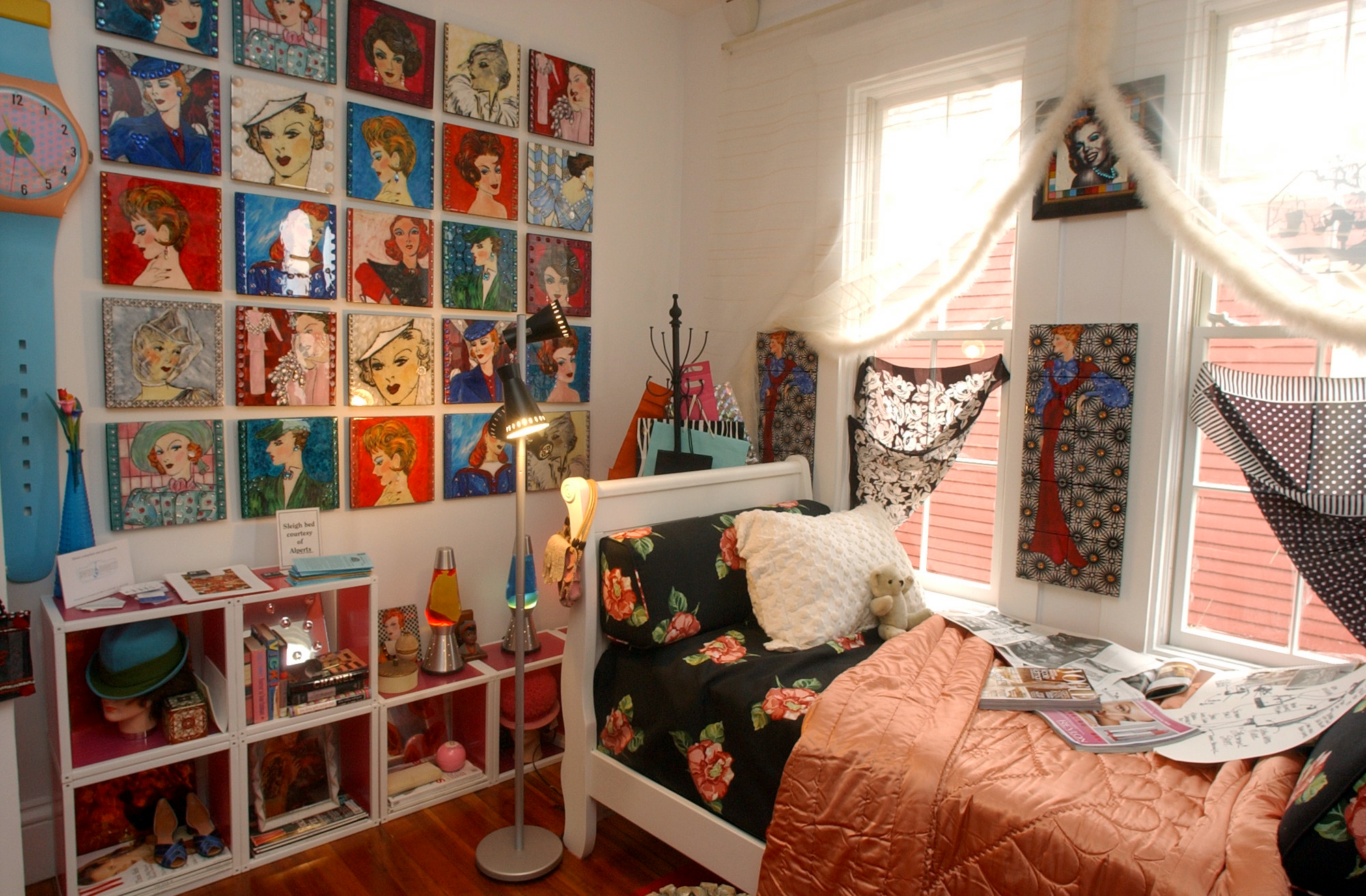 "Second floor bedroom (""teen bedroom"") by Coral Bourgeois + Tom Limone"